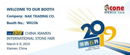 19TH CHINA XIAMEN INTERNATIONAL STONE FAIR XIAMEN, CHINA, 06-09 MAR 2019-min